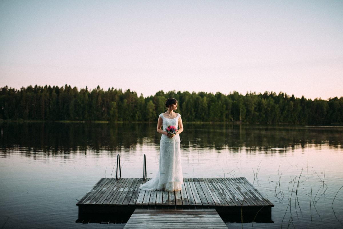 Braut See Shooting Ausland