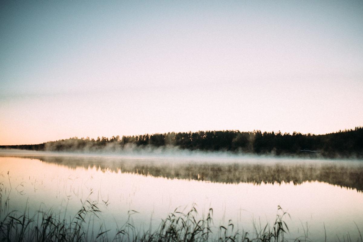 Finnland Landschaft See