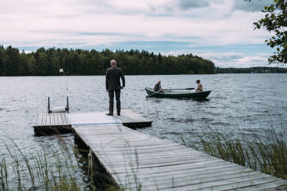 Destination Wedding Finnland Trauung Boot