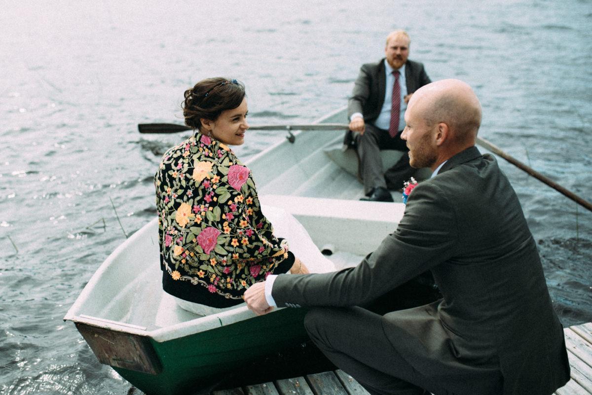 Destination Wedding Trauung See Finnland