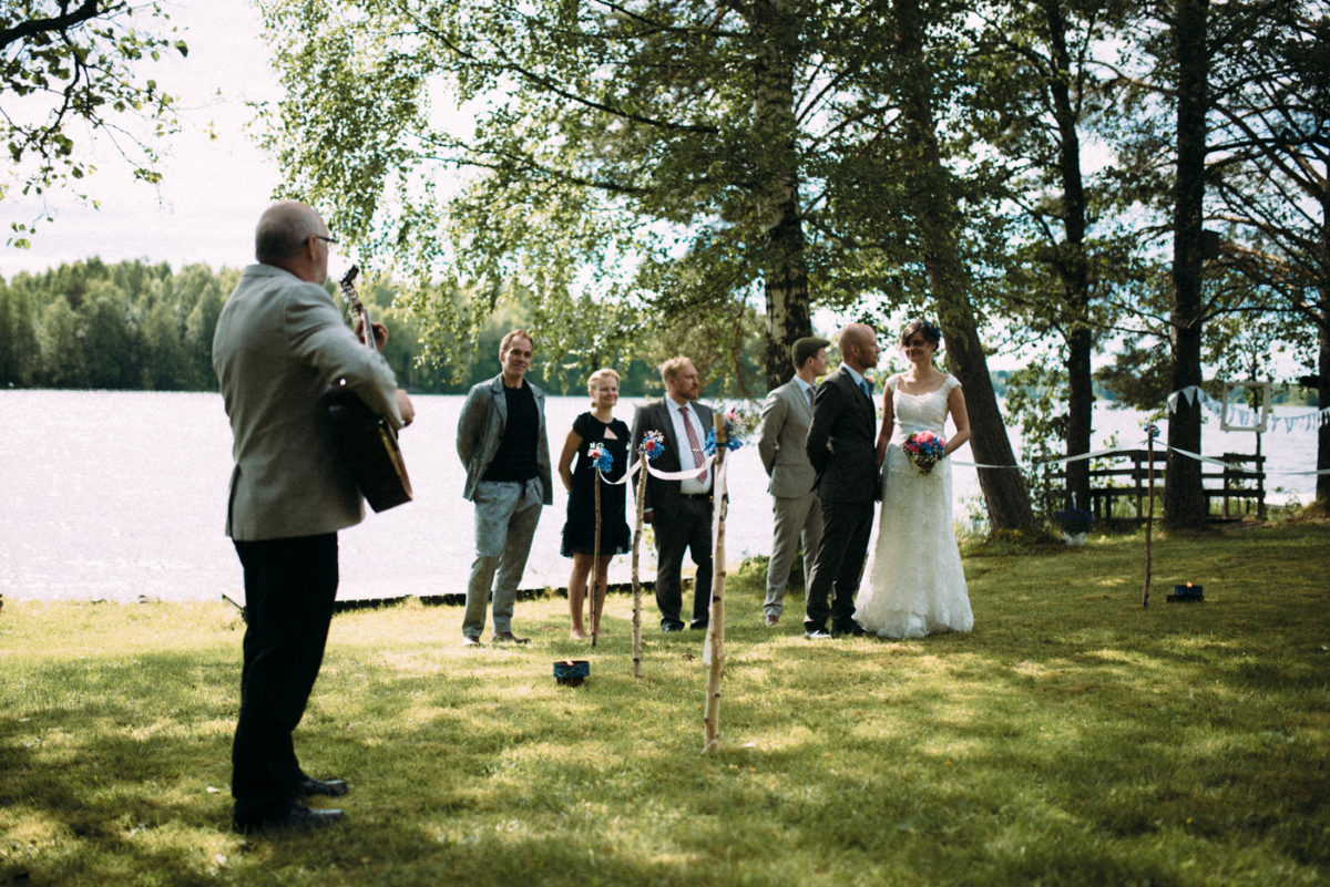 Destination Wedding Finnland freie Trauung
