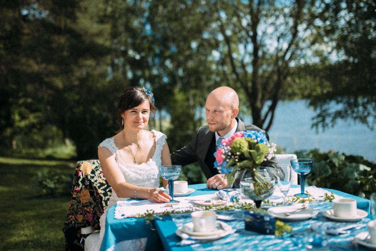 Destination Hochzeit Finnland Braut Bräutigam