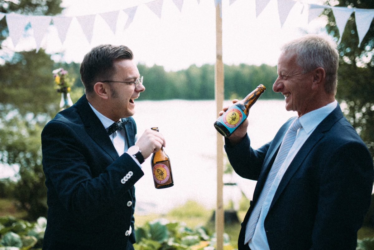 Bubi Helles deutsches Bier in Finnland genießen