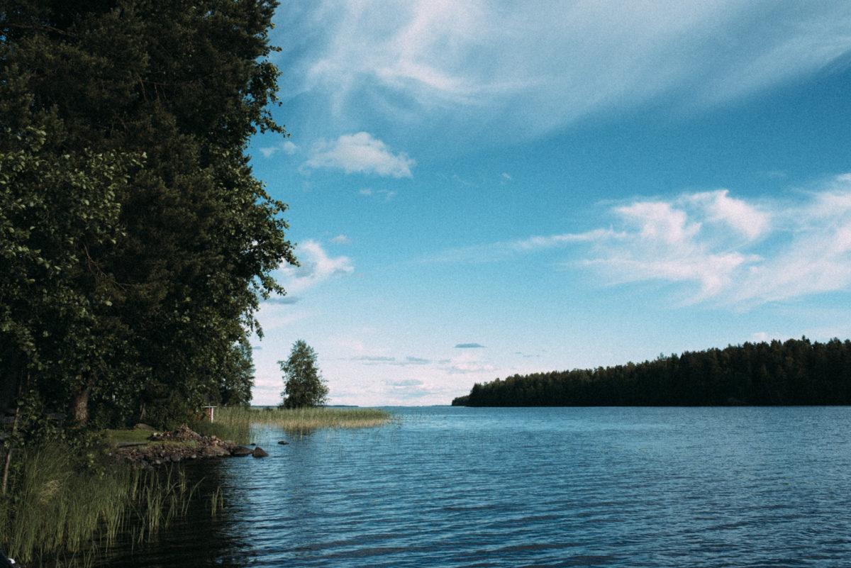 Finnland Seelandschaft Hochzeit
