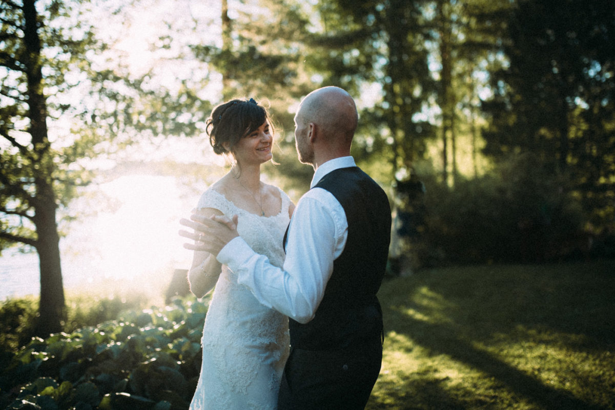 Destination Wedding First Dance Finnland