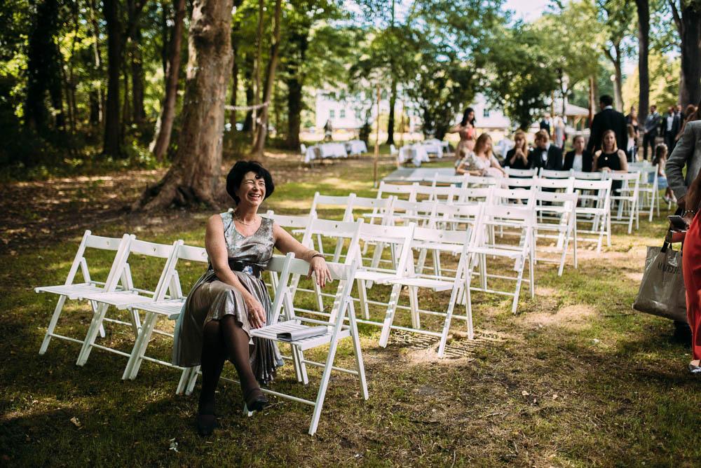 Ankunft Gäste Hochzeit