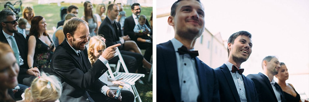 Momente Hochzeit Trauung Gäste