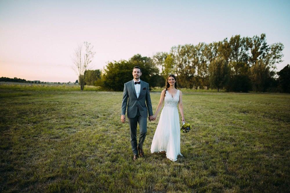 Hochzeitsbilder abends