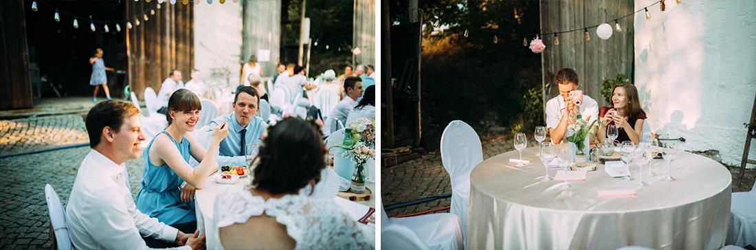 Hochzeit feiern zu Hause