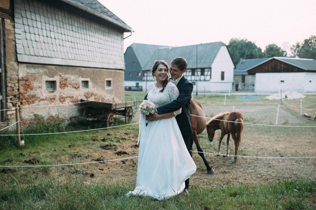Hochzeit Pferde Shooting