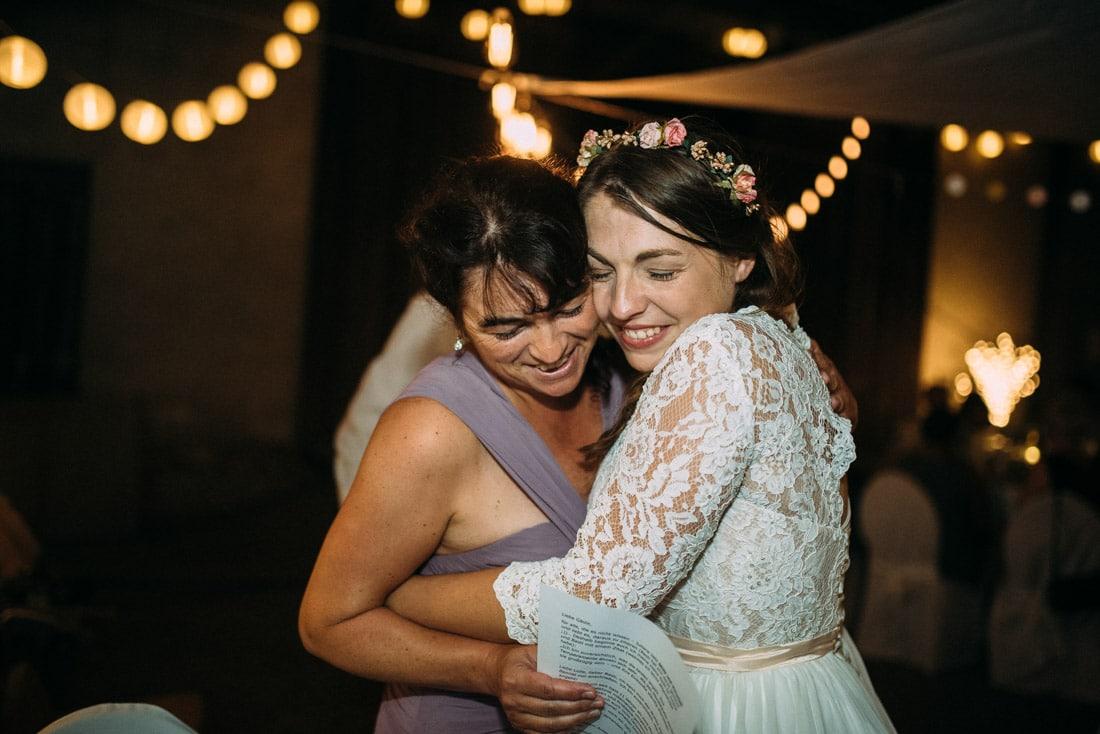Brautmutter Braut Moment