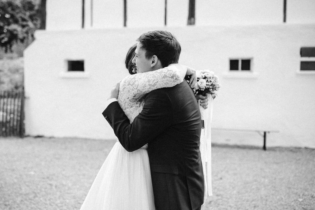 First Look Hochzeitsbilder
