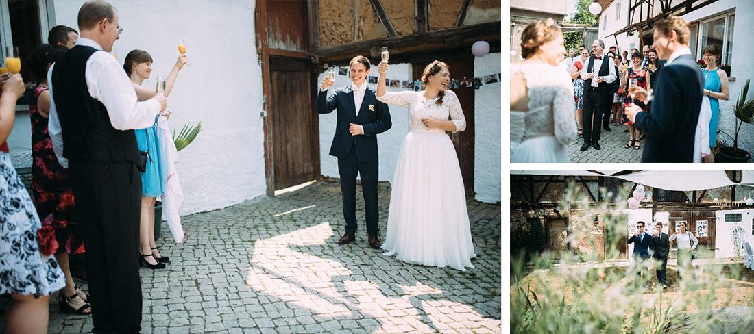 Heiraten auf einem Bauernhof
