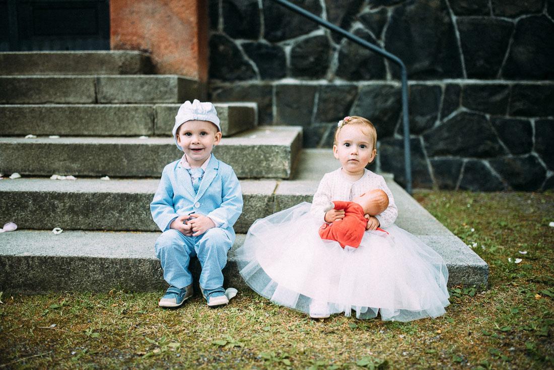 Kinder Hochzeit Momente