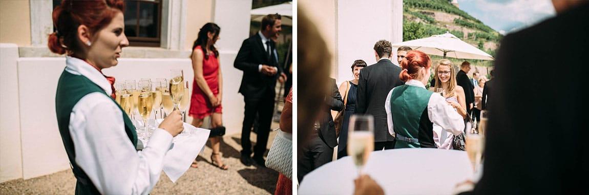 Sekt Hochzeit