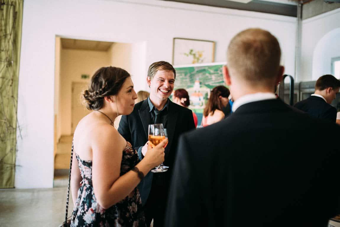 Momente Gäste Hochzeit Reportage