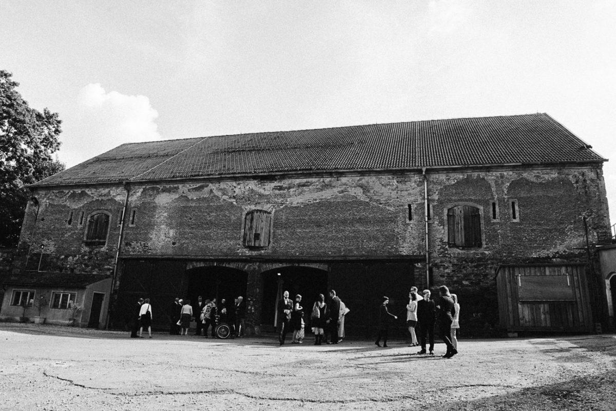 Trauung in Scheune Sachsen Boho