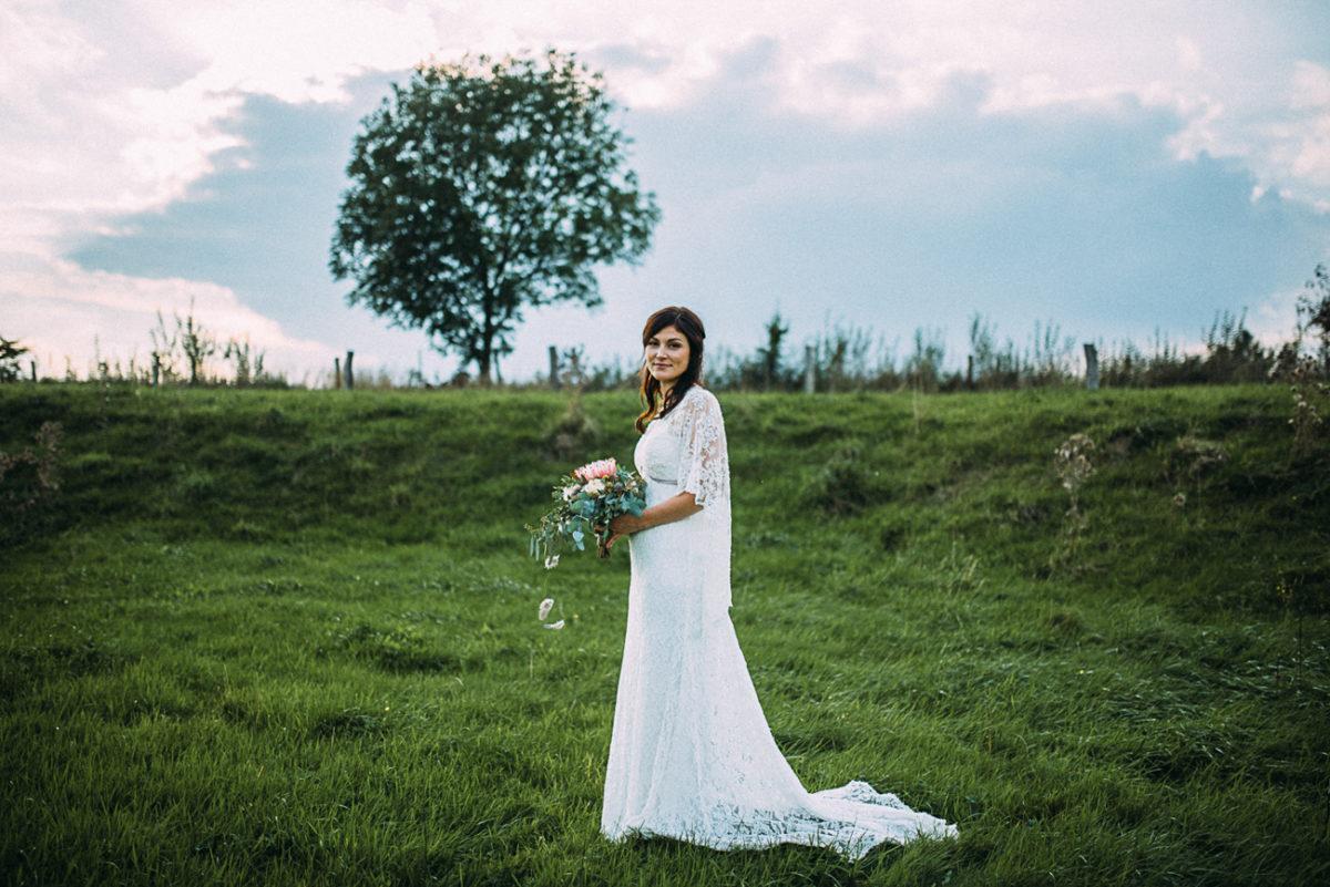 Braut boho vintage natürlich Landlust