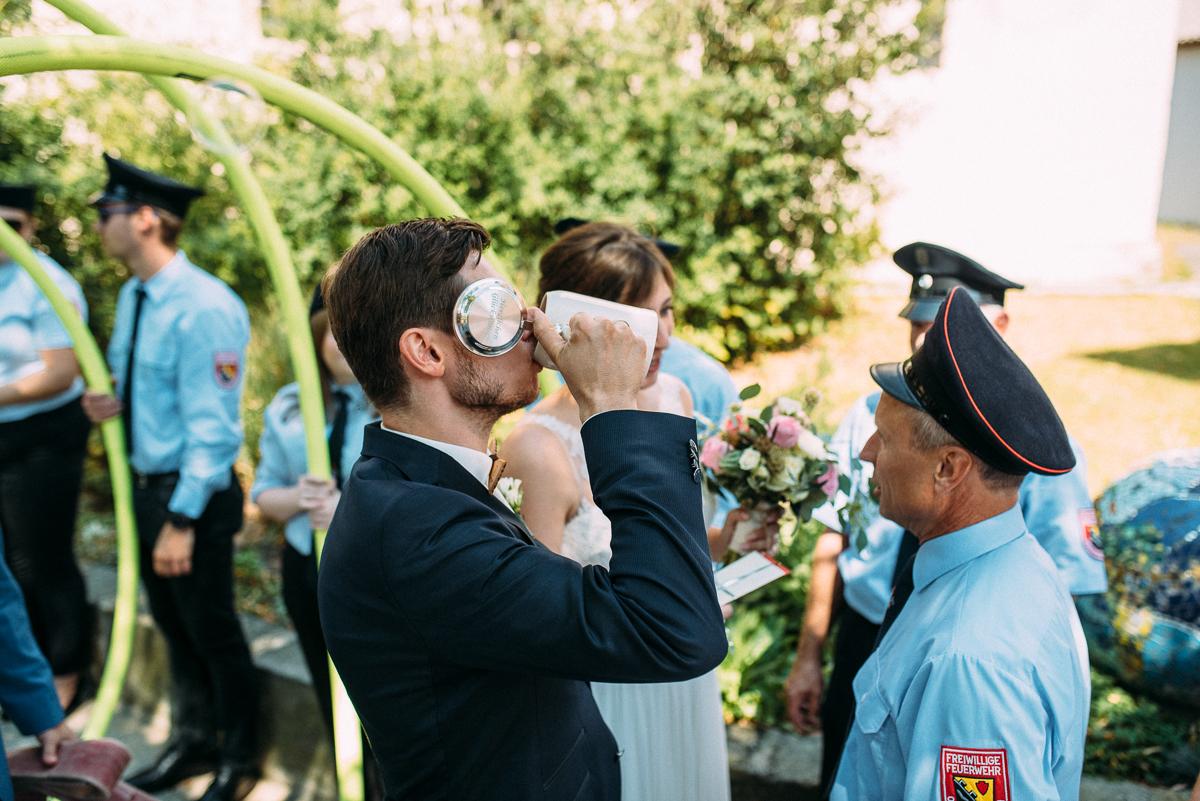 Momente Hochzeit Trauung kirchlich Scheunenhochzeit Nürnberg