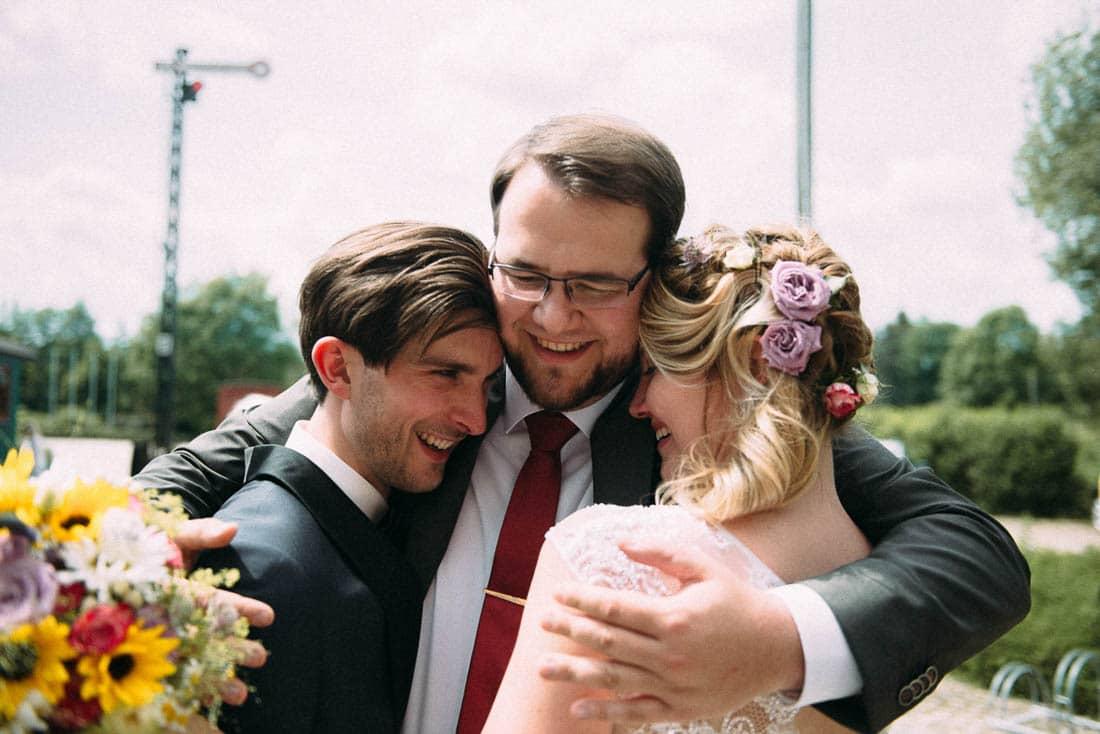 Rollbockbahn e. V. Heinsdorfergrund Hochzeit Heiraten Trauung Feiern